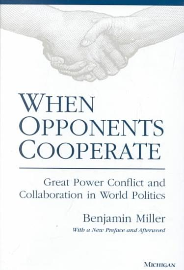 When Opponents Cooperate PDF