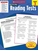 Scholastic Success with Reading Tests Book