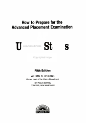 How to Prepare for the Advanced Placement Examination  AP United States History PDF