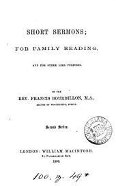 Short sermons for family reading