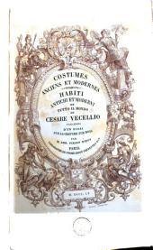 Costumes anciens et modernes: Volume2
