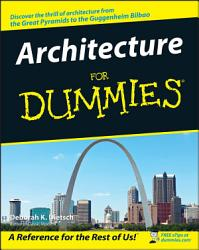 Architecture For Dummies Book PDF