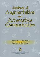 The Handbook of Augmentative and Alternative Communication