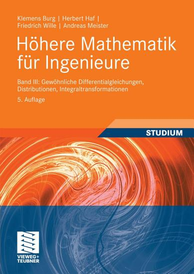 H  here Mathematik f  r Ingenieure Band III PDF