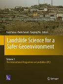 Download Landslide Science for a Safer Geoenvironment Book