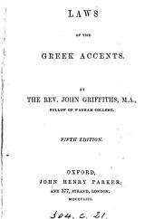 Laws of the Greek accents