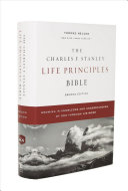 NKJV, Charles F. Stanley Life Principles Bible, 2nd Edition, Hardcover, Comfort Print