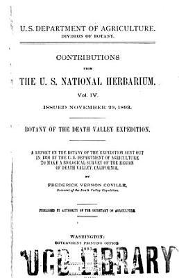 Botany of the Death Valley Expedition