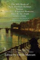 The MX Book of New Sherlock Holmes Stories   Part XVI PDF