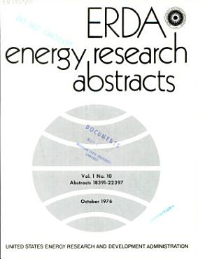 ERDA Energy Research Abstracts PDF