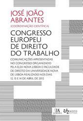 Congresso Europeu de Direito do Trabalho - 5.a Edição