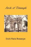 Arch of Triumph PDF