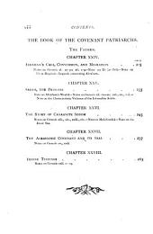 The age of the great patriarchs from Adam to Jacob: Volume 1