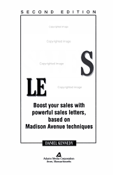 Ultimate Sales Letter 2nd Ed Book PDF