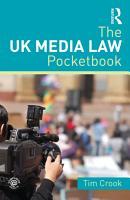 The UK Media Law Pocketbook PDF
