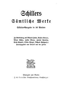Schillers s  mtliche Werke  Historische Shriften I III PDF