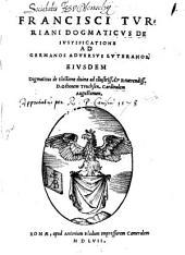 De iustificatione ad Gernamos adversos Lutheranos