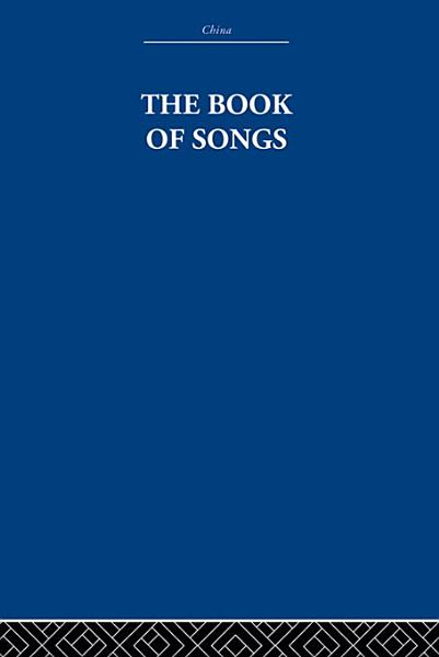 Download The Book of Songs Book