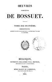 Oeuvres complètes de Bossuet: Volume18