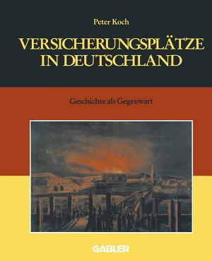 Versicherungspl  tze in Deutschland PDF