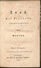 Faust: Ein Fragment
