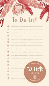 To Do List Book