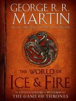 The World of Ice   Fire PDF