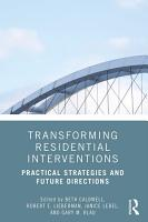 Transforming Residential Interventions PDF