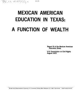 Mexican American Education in Texas
