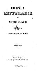 La Frusta letteraria di Aristarco Scannabue