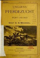 Ungarns Pferdezucht in Wort und Bild PDF