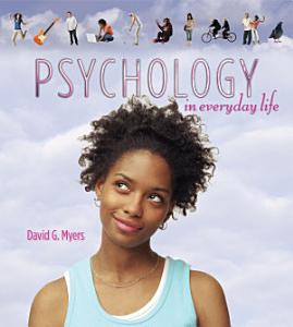 Psychology in Everyday Life Book