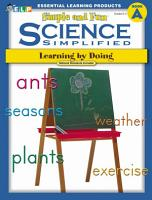 Science Simplified  Simple and Fun Science  Book A  Grades K 2  PDF