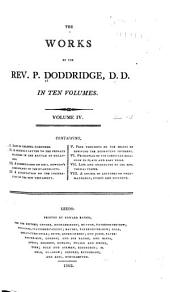 The Works of the Rev. P. Doddridge: Volume 4