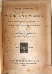 Eight Chapters on the History of Work and Wages