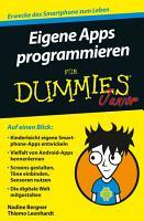 Eigene Apps programmieren f  r Dummies Junior PDF