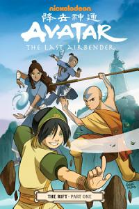 Avatar  the Last Airbender   the Rift Part 1 Book