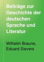 Beiträge zur Geschichte der deutschen Sprache und Literatur: Band 24