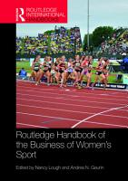 Routledge Handbook of the Business of Women s Sport PDF