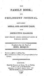 The Family Book; Or Childrens' Journal
