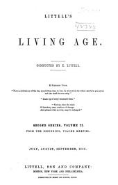 The Living Age ...: Volume 38