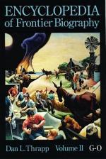 Encyclopedia of Frontier Biography: G-O