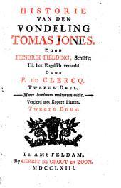 Historie van den vondeling Tomas Jones: Volume 2