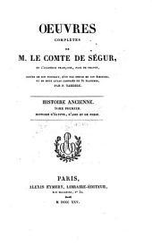 Histoire ancienne ; tome premier: Histoire d'Egypte, d'Asie et de Perse, Volume 10