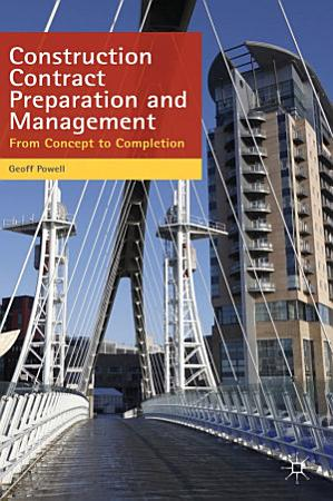 Construction Contract Preparation and Management PDF