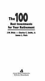 100 Best Investments For Your Retirement