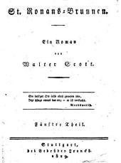 St. Ronans-Brunnen: ein Roman, Band 5