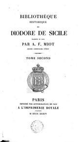Bibliothèque historique de Diodore de Sicile: Volume2