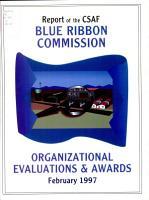 Report of the CSAF Blue Ribbon Commission PDF