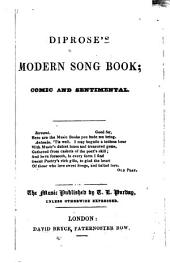 Diprose's modern song book; comic and sentimental
